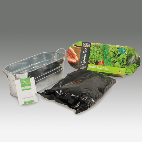 Windowsill Herb Planter: Windowsill Herb Garden Kit From Mr