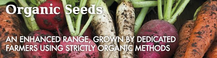 Organic|Vegetable seeds from Johnsons