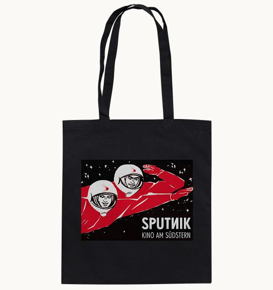 """Sputnik Baumwolltasche """"Kosmonaut"""""""