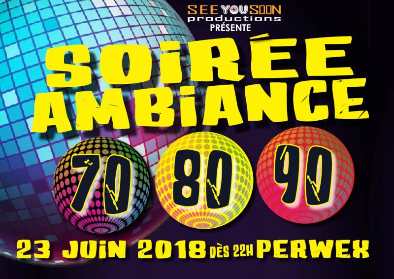 Soirée Ambiance 70-80-90