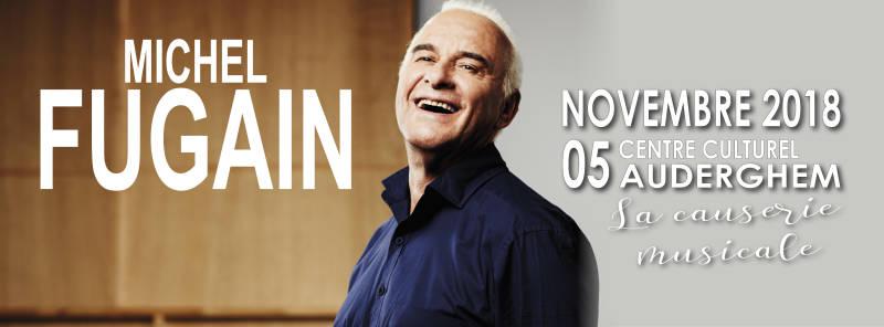 Michel FUGAIN - La Causerie musicale - AUDERGHEM