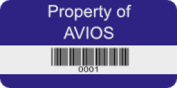 Laminated Polypropylene Labels