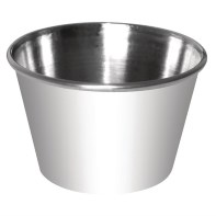 In need of little pots to serve condiments to customers? These are good for portion control on sauce