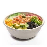 Buddha bowls are fully home compostable, stackable bowls ideal for serving healthy cold food in.