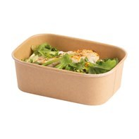 Colpacs innovative range of board lined containers great for hot and cold food