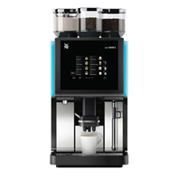 Selection of automatic coffee equipment, excellent choice for offices, receptions and small shops.