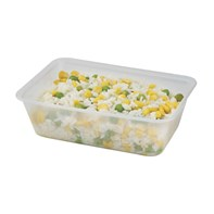 Microwave Clear disposable Containers