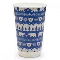 Get in the festive spirit by serving your hot drinks in these lovely Christmas cups