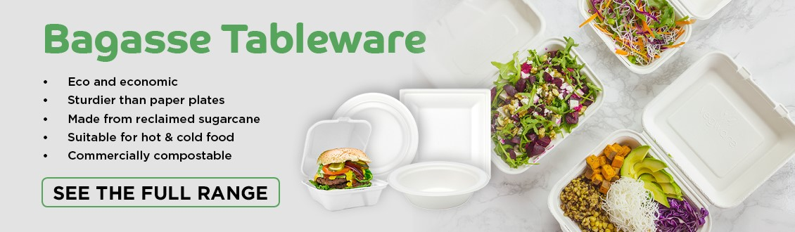 Bagasse, packaging, compostable