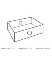 Platter Box Quarter Insert Qty 50