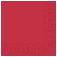 40cm 3ply Red Napkin