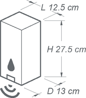 Touchless Free Standing Sanitizer Dispenser