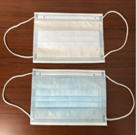 Nonwoven 3ply Face Mask Qty 50