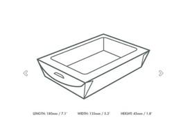 Large Window Salad Box, Qty 300