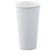 20oz White Single Wall Cups Qty 1000 | Select Catering Solutions Ltd