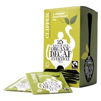 Clipper F/T Organic Decaf Envelope Qty 6x25   Select Catering Solutions Ltd