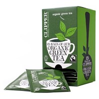 Clipper Organic Green Envelope Qty 6x25 | Select Catering Solutions Ltd
