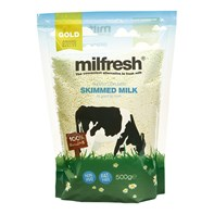 Milfresh Gold Superior Skimmed Milk 10x500g | Select Catering Solutions Ltd
