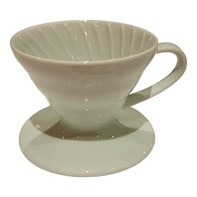 Hario V60 Ceramic Dripper 02 White | Select Catering Solutions Ltd