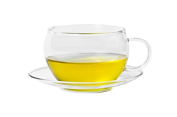 Shen Glass Tea Cup and Saucer | Select Catering Solutions Ltd