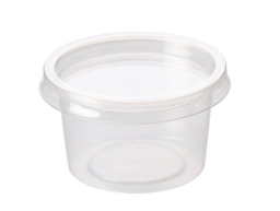 4oz Deli Pot Container & Lid 1000 | Select Catering Solutions Ltd