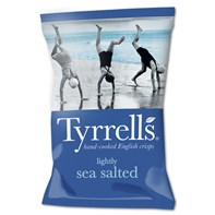 Tyrrells Lightly Sea Salted 40g | Select Catering Solutions Ltd