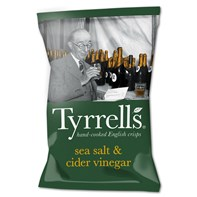 Tyrrells Cider Vinegar & Sea Salt 40g | Select Catering Solutions Ltd