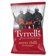 Tyrrells Sweet Chilli & Red Pepper 40g | Select Catering Solutions Ltd