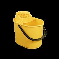 Yellow Mop Bucket 12L