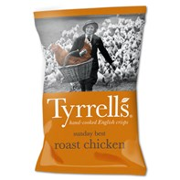 Tyrrells Sunday Best Roast Chicken 40g | Select Catering Solutions Ltd