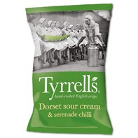Tyrrells Dorset Sour Cream & Serenade Chilli 40g | Select Catering Solutions Ltd