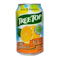 Tree Top Still Orange Juice Cans 330ml | Select Catering Solutions Ltd