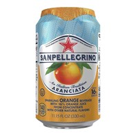 San Pellegrino Orange Cans | Select Catering Solutions Ltd