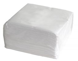 40cm 3ply White Napkin Qty 1000 | Select Catering Solutions Ltd