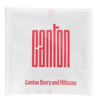 Canton Wrapped Red Berry & Hibiscus Pyramid Tea Bags | Select Catering Solutions Ltd
