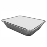 1/2 Gastro Foil Tray Board Lids | Select Catering Solutions Ltd