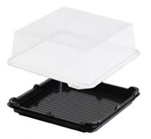 Elegance Large Square Lid Qty 90 | Select Catering Solutions Ltd