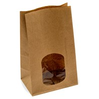 Kraft Window Sandwich Bag | Select Catering Solutions Ltd