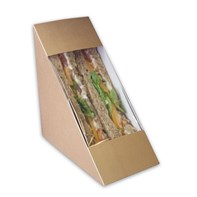 65ml Standard Natural Sandwich Wedge | Select Catering Solutions Ltd