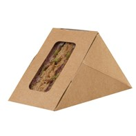 Mini Kraft Sandwich Wedge 88x55x88 | Select Catering Solutions Ltd