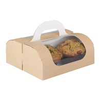 Kraft Muffin Carry Box | Select Catering Solutions Ltd