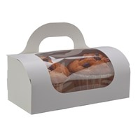 White Muffin Carry Box
