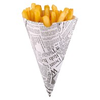 Newsprint Paper Cone | Select Catering Solutions Ltd