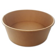 750ml Kraft Fresh Bowl 150x128x60mm