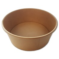 1300ml Kraft Fresh Bowl 150x128x60mm