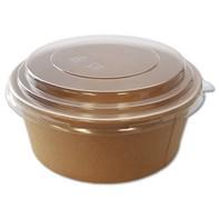 Clear Domed Lid 1300ml for Kraft Fresh Bowl