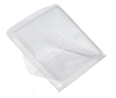 Clear Tent Wedge for 4 Sandwich Quarters | Select Catering Solutions Ltd