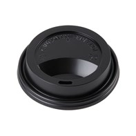 12-16oz Black Sip Lid | Select Catering Solutions Ltd