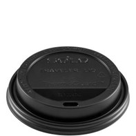 12-20oz Black Traveler Lid | Select Catering Solutions Ltd