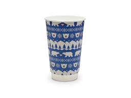 16oz Double Wall Blue Polar Christmas Cup | Select Catering Solutions Ltd